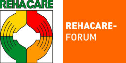 Grafik: Logo des REHACARE-Forums; Copyright Messe Düsseldorf