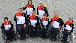 Foto: Deutsches Rollstuhlcurling-Team; Copyright: Martin Schlitt