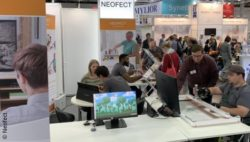 Foto: Der Neofect Messestand auf der REHACARE 2019; Copyright: Neofect