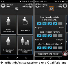 Foto: Screenshot der App