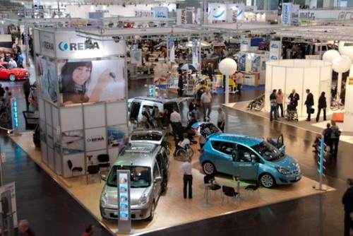 Messestand der REHA Group Automotive auf der REHACARE 2010