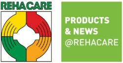 Grafik: Logo Products & News @REHACARE