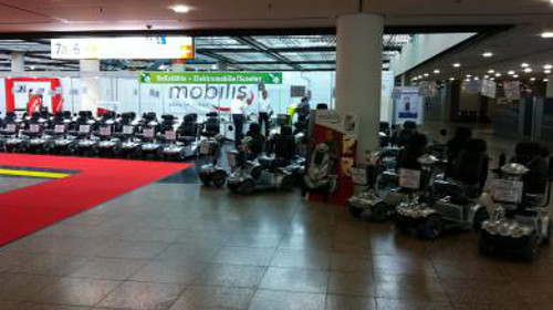 Foto: Mobilis-Scooter
