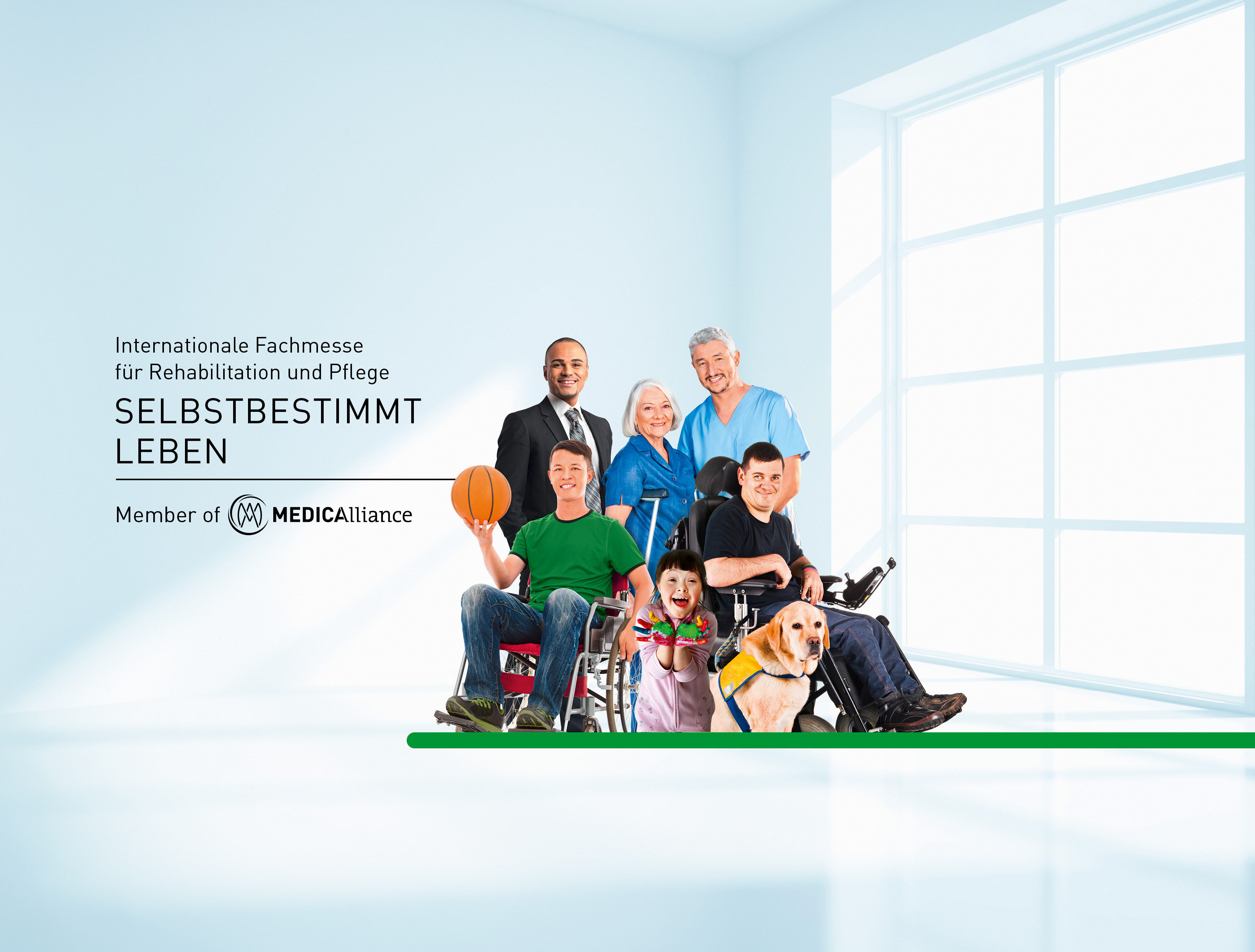 International Trade Fair For Rehabilitation And Care Of People With Special Needs And Those Requiring Care Rehabilitation Care Prevention Inclusion Living Aids Mobility Communication Traveling Sports Dusseldorf Rehacare