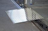 Mobile Aluminium Überladebrücke Warzenblech