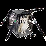 Dog Cage Restraint System