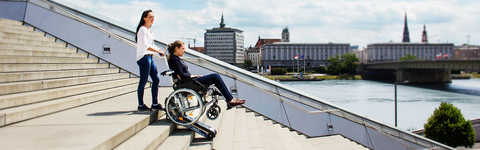 LIFTKAR PTR tracked stairclimber for people