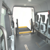 Kraftfahrzeuge zur Beförderung mobilitätsbehinderter Personen