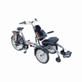 Wheelchair bicycles