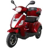 Rolektro, E-Trike 15 V.2, Farbe Rot, 500 Watt / 24V 45 AH