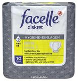 facelle diskret Men Hygiene-Einlagen Level 2