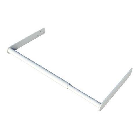 SecuBar Fensterschutz, Weiß, Tagsüber, 900-1450 mm