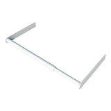 SecuBar Window protection, White, In the day, 900-1450 mm