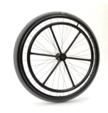 Hemiplegic system wheels with spokes