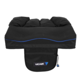 Vicair Active O2 wheelchair cushion - 100% breathable & machine washable - with storage pouch