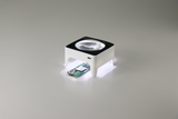 Square LED magnifier