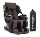brainLight relaxTower mit Shiatsu-Massagesessel 3D FLOAT PLUS