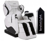 brainLight relaxTower mit 4D-Shiatsu-Massagesessel Zenesse