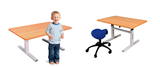 Sit-stand childerens table ergo M1 50