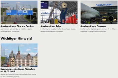 Alle Wege führen nach Frankfurt