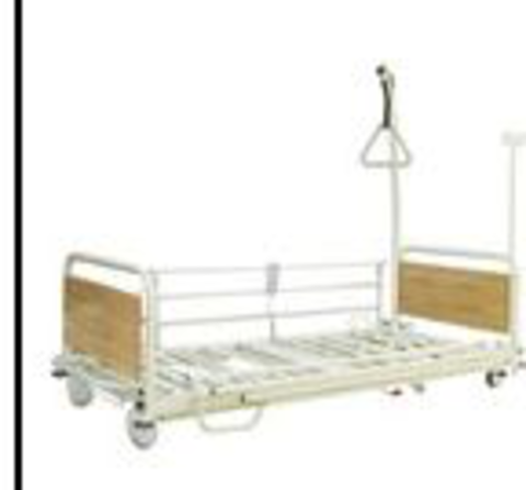 Hospital bed with 4 motors 5109