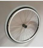 24 x 1 3/8 (37-540) black & silver wheel - inova tyre - 12 mm - 2nd quality