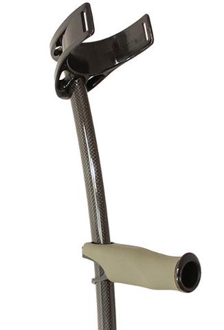 Carbon Fibre Elbow Crutch - The lightest forearm crutch in the world