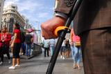 Carbon Fibre Elbow Crutch - 0,5lb