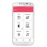 GEWA Connect Grid menu