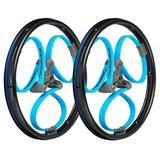 Bright Coloured Wheelchair Wheels