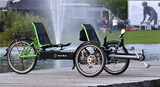 Recumbent Transportable E-Trike Tandem from Germany