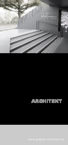 GutjahrArchitekt Flyer