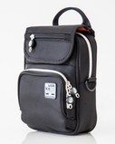 QUOKKA BIG VERTICAL BAG - BLACK