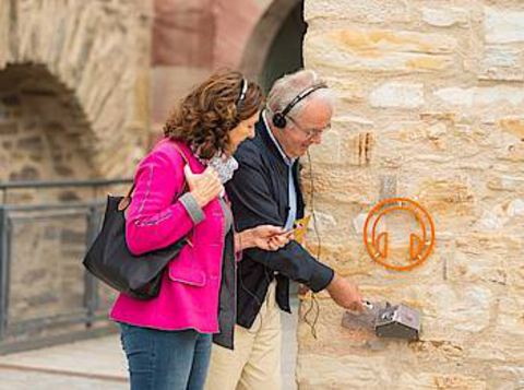 Deaf or hearing-impaired visitors