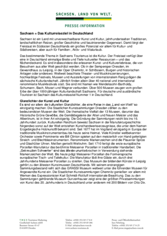 Imagetext Sachsen