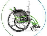 adaptive wheelchair radius
