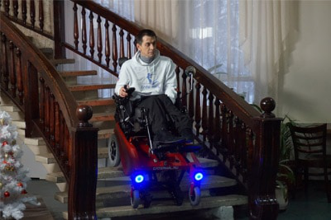 Stair climbing wheelchair Caterwil GTS3