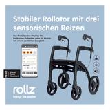 Rollz Motion Rhythm mit drei Reizen für Parkinson-Patienten