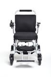FreedomChair faltbarer Elektro Rollstuhl A06 Frontansicht