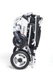 FreedomChair faltbarer Elektro Rollstuhl A06 gefaltet