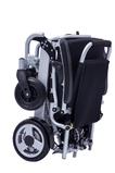 FreedomChair faltbarer Elektro Rollstuhl A07 gefaltet